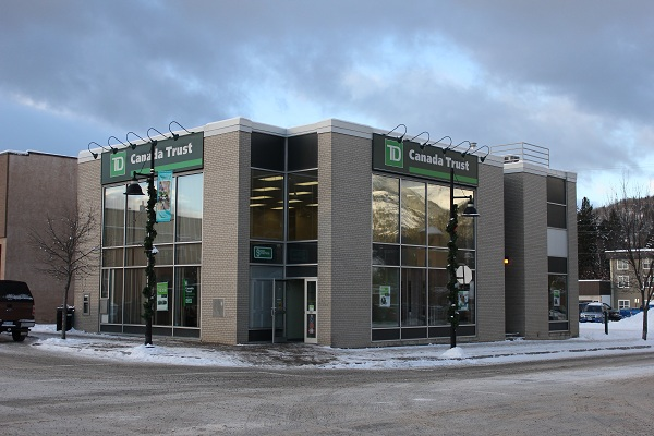 Where we opened a Canadian bank account