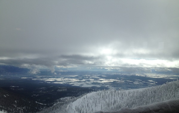More great views from the Summit of Whitefish Mountain Resort