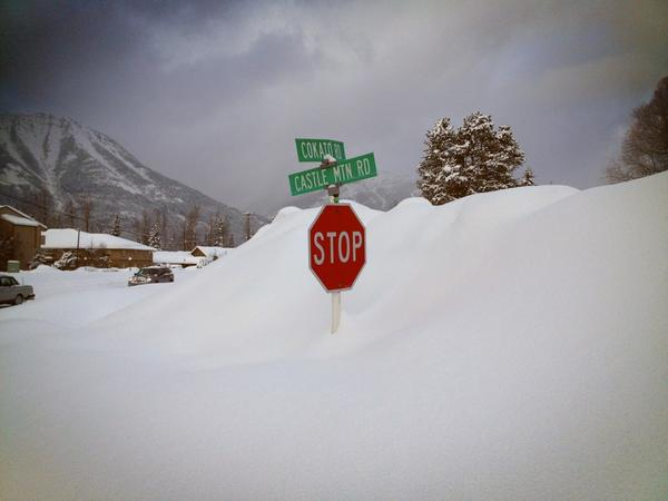 We had some great snow in Fernie Alpine Resort, this week was over 2 meters!