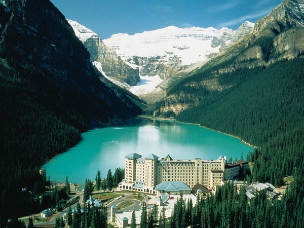 Lake Louise is one of the most beautiful places I have ever seen!
