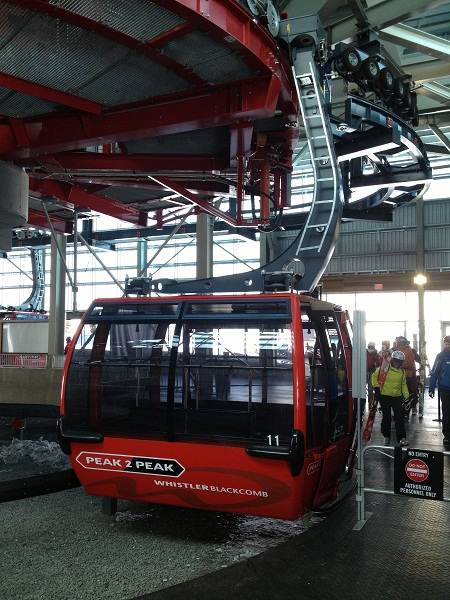 The Massive Gondola on the Peak2Peak!