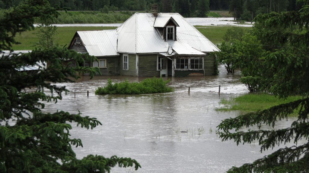 There has been 1 in 100 years flood in Fernie - Photo - Freepress