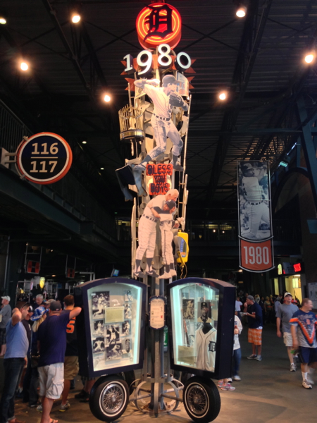 One of the exhibitions depicting a decade in the Tigers history
